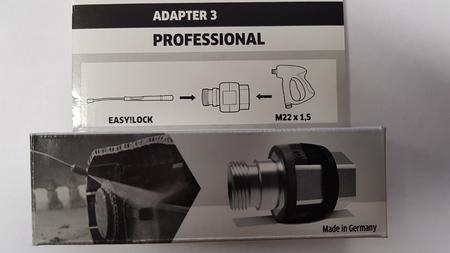 Adaptér 3 M22 x 1,5 IG - EASY!Lock 22 AG - 2